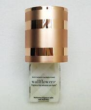 Bath Body Works ROSE GOLD STRIPE Wallflower Unit Diffuser Plug In Holder Decor