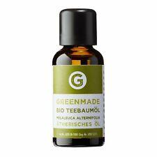 Bio Teebaumöl 10ml - 100% naturrein - kbA Qualität von greenmade