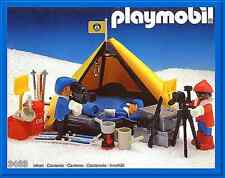 Playmobil 3463 Polar Exploration Camp - mint in box long-retired set from 1986