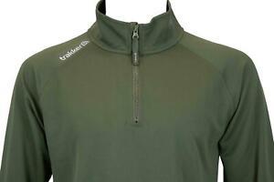 Trakker Half Zip Top with UV Sun Protection / Carp Fishing Long sleeve T-Shirt