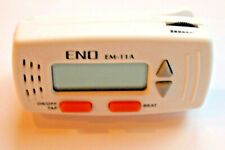 Metronome ENO EM-11A NEW Mini Clip Digital Metronome White Color