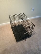 midwest life stages folding metal dog crate medium
