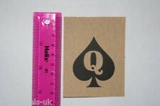 Sexy Queen of Spades Temporary Tattoo Novelty Fetish Bbc Hotwife