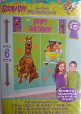 Giant Scooby Doo! Wall Decoration Kit (6' Tall) 5 Decorations inc Happy Birthday