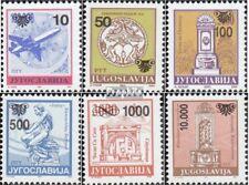 Joegoslavië 2622-2627 postfris 1993 Postzegels