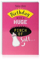 Female Birthday Greetings Card - Funny Humour Joke Drink  - OTC5007-2