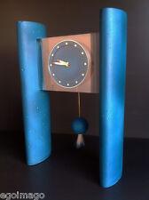 "TRES RARE PENDULE ""CIMENTINE"" design HILTON Mc CONNICO pour LANVIN -HOUR LAVIGNE"