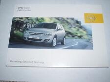 Bedienungsanleitung Opel Corsa C, Ausgabe 08/2005 (neu) #bac0805