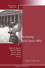 Develop Soc Justice Allies 110 by Reason, Robert D.