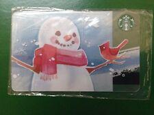 RUSSIA, STARBUCKS RUSSIAN CARD,SNOWMAN 2014,SEALED. VERY VERY RARE!