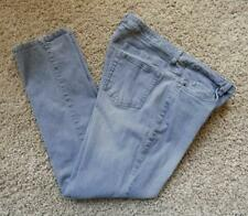Metro Blues Women's Grey Modern Fit Straight Leg Skinny Jeans Size 18