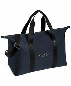 COACH Duffel  Travel Gym Weekender Navy bag NEW