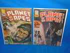 PLANET OF THE APES #22 & 23 - 1974 Series - Curtis / Marvel Comics Magazine