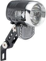 Fahrrad LED Scheinwerfer für Nabendynamo AXA BLUELINE 50 Lux Fahrradlampe 01041
