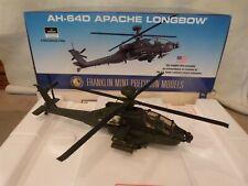 FRANKLIN MINT AH-64D APACHE LONGBOW Die-Cast Precision Model 1:24 Scale