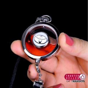 Toyota Pendant Car Air Freshener Perfume Diffuser Keyring