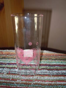 YANKEE CANDLE GLASS CANDLE SLEEVE PINK HEARTS LOVEBIRDS 2012 RETIRED VALENTINES