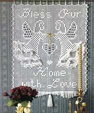 PRETTY Angel's Blessing Filet Panel/Decor/Crochet Pattern INSTRUCTIONS ONLY