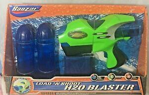 Banzai Load n' Shoot H2O Blaster  Water Gun Soaker Toy  New in Box