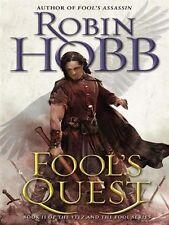 Robin HOBB / (Fitz & the Fool Bk 02) FOOL'S QUEST   [ Audiobook ]