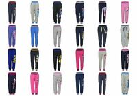 Boys Girls Kids Characters Jogging Tracksuit Bottoms Trousers Age 2-12