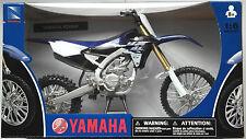 NewRay - Yamaha YZ450F 2015 blau 1:6 Neu/OVP Moto Cross Motorrad-Modell