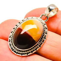 """Mookaite 925 Sterling Silver Pendant 1 1/2"""" Ana Co Jewelry P755764F"""