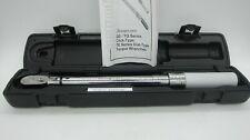 "Snap On 3/8"" SAE Adjustable Click-Type Flex-Head Torque Wrench QD2FR75B"