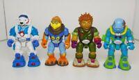 ELC Planet Protectors Action Figure Bundle - Reef, Eye, Kat, Ice