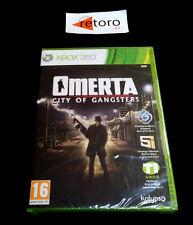 OMERTA CITY OF GANSTERS Xbox 360 PAL-España Español NUEVO Precintado xbox360