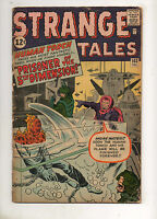 Strange Tales #103 #3 Issue HUMAN TORCH 1962 NICE VG 4.0! KIRBY & DITKO ART!