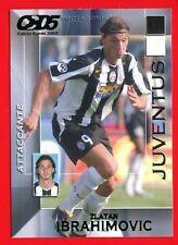 CALCIO CARDS 2005 - Panini Card n. 71 - IBRAHIMOVIC - JUVENTUS