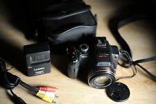 Panasonic Lumix DMC-FZ100K 14.1 MP Digital Camera - Black+ BAG AS NEW!