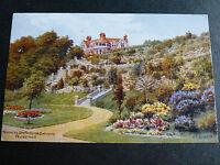 ARQ152 - Terraces, Spa Pavilion Gardens FELIXSTOWE - A R Quinton #2596 POSTCARD