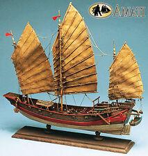 Chinese Pirate Junk Wood Model Ship Kit by Amati