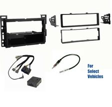Single Din Car Stereo Radio Install Dash Wire Kit Combo for some GM HHR G5 etc