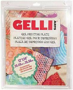 "Gelli Arts Gel Printing Plate for mono-printing | 12"" x 14"" | 30.48cm x 35.56cm"