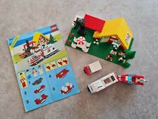 LEGO 6388 Ferienhaus, Haus mit Caravan und Boot - gebraucht, inkl. Bauanleitung