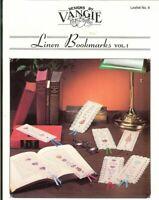 LINEN  BOOKMARKS VOL.1   - CROSS STITCH BOOKMARK LEAFLET