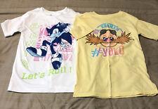 Sonic the hedgehog 2pc shirt set boys