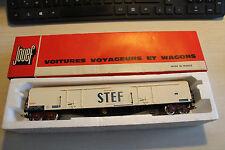 jouef  6760 wagon refrigerant à bogies stef