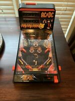AC/DC Tabletop Electronic Pinball Machine 2011 - RARE!!! SEE DESCRIPTION