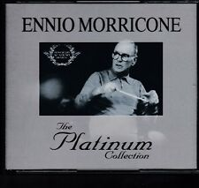 ENNIO MORRICONE The Platinum Collection 3-CD BOX EMI ITALY 60 TRACKS Freepost