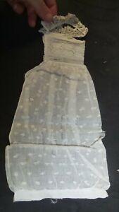 Original rare Antique 18th century sleeve protector HONITON LACE