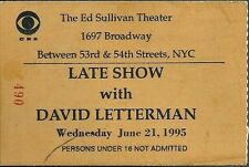 Сувениры David Letterman