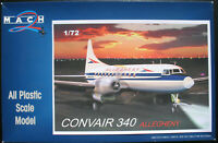 MACH 2 GP052 - CONVAIR 340 - ALLEGHENY - 1:72 - Flugzeug Modellbausatz Model Kit