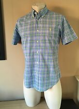 Awesome Ralph Lauren Short Sleeve Summer Shirt Size Small Pit To Pit 20 Inches.