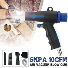 2-In-1 Air Vacuum Blow Gun Pneumatic Blower Sustion Machine Cleaning Tool Kit H