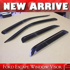 Ford Escape 2001-2012 Window Visor Vent Sun Shade Rain Guard 4pcs