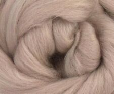 4 Ounces Merino Wool Combed Top/Roving - Beige - FREE SHIPPING